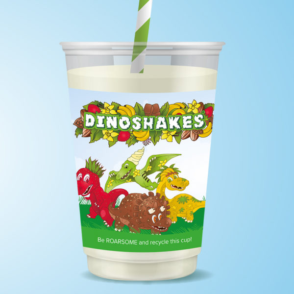 Dinoshakes milkshake for kids